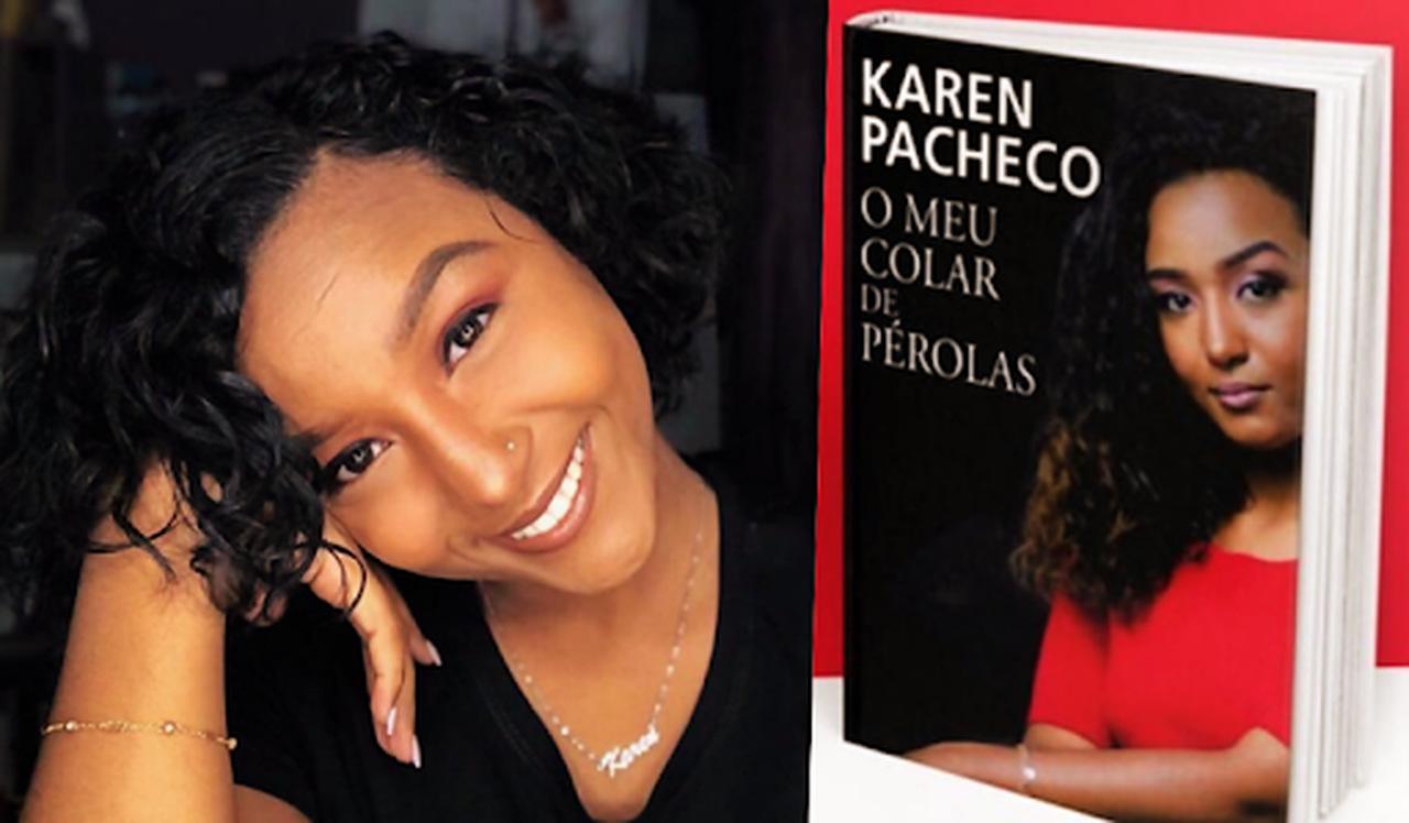 """""""O meu colar de pérolas"""", de Karen Pacheco"""