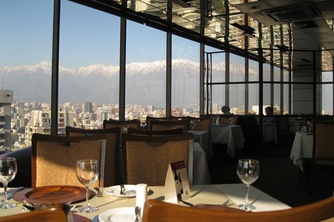 Reserve no Restaurante Giratório em Santiago – no Chile