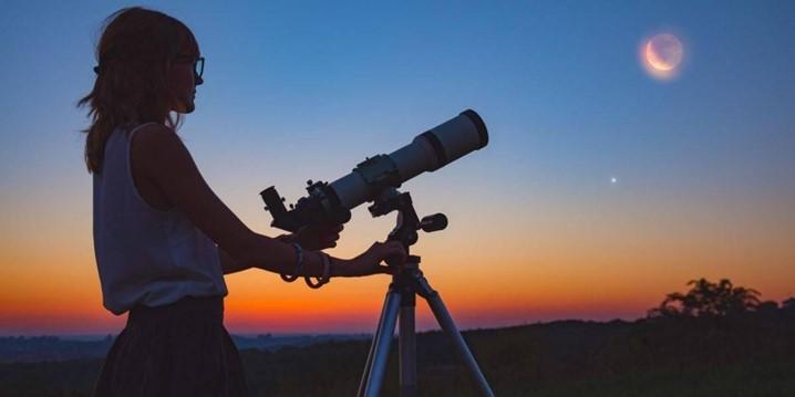 Conheça o Telescópio Portátil Inteligente