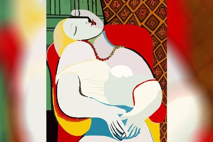 """""""O Sonho"""", de Pablo Picasso"""
