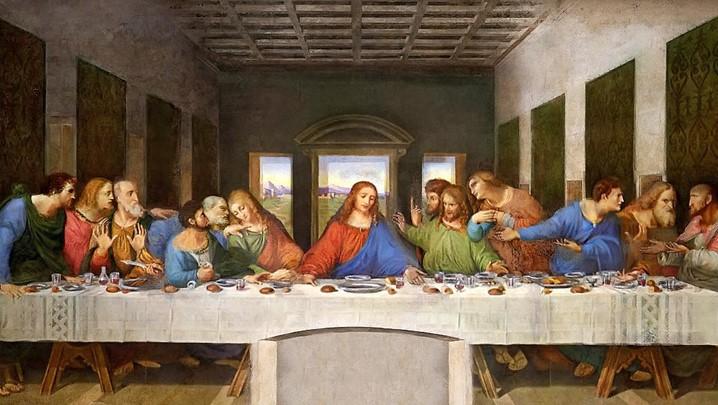 """""""A Última Ceia"""": uma das obras mais emblemáticas de Leonardo da Vinci"""