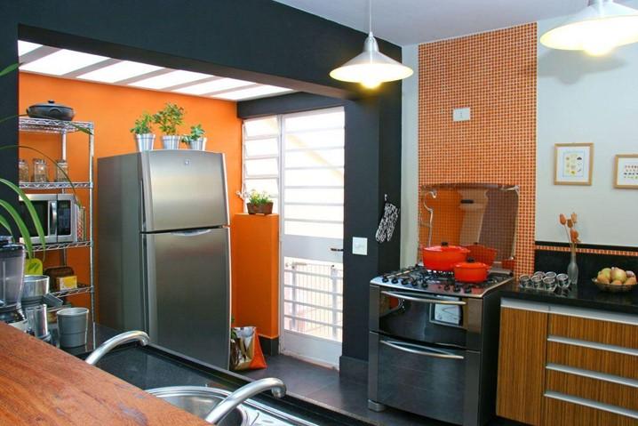 Que tal  pintar a cozinha? O segredo está nas cores certas