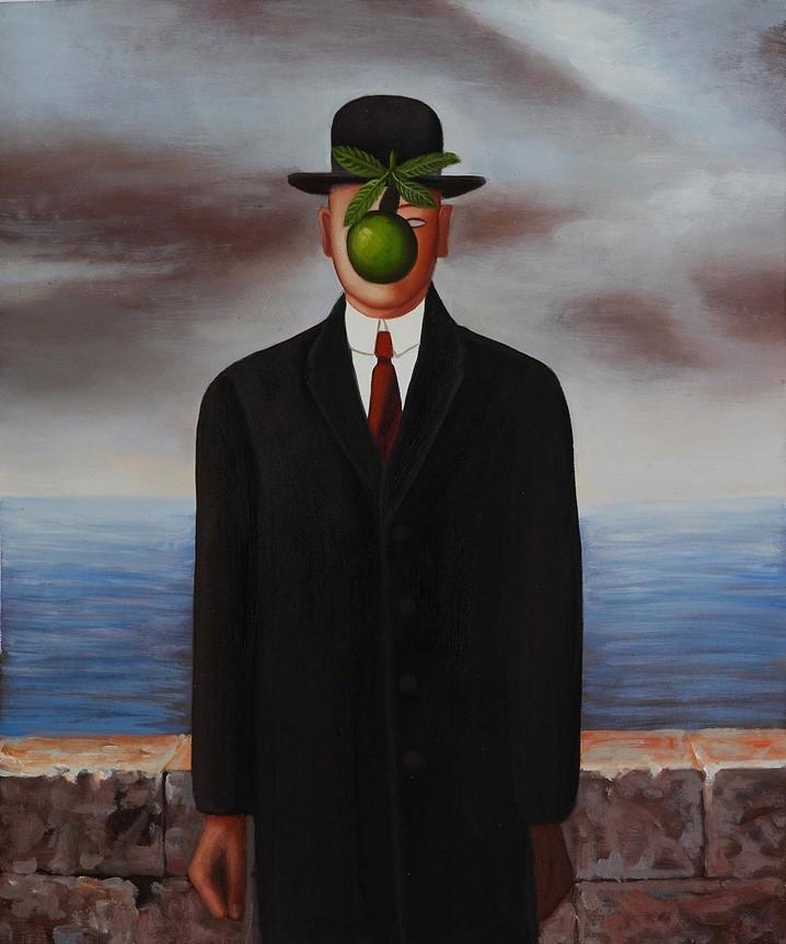 """""""O Filho do Homem """":  a sublime obra de arte do surrealista belga René Magritte"""