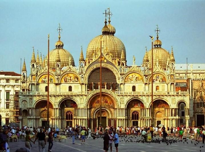 Em Itália não deixe de visitar a Basílica de San Marcos
