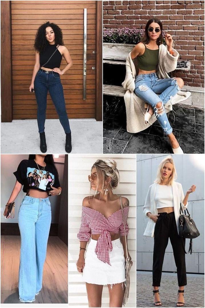 O que está na moda no mundo das mulheres