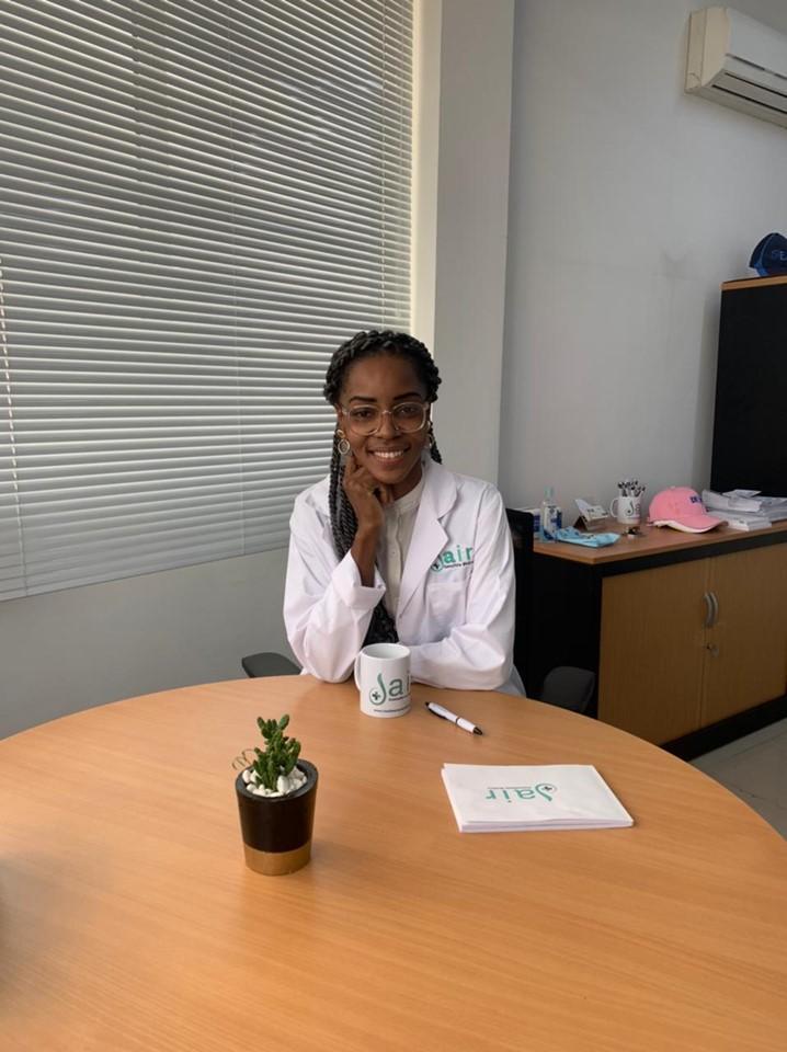 """A Nutricionista Kilsan da Rosa António questiona: """"sabia que uma alimentação saudável melhora a qualidade do espermatozóide?"""""""