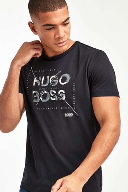 T-shirts confortáveis masculinas da Hugo Boss