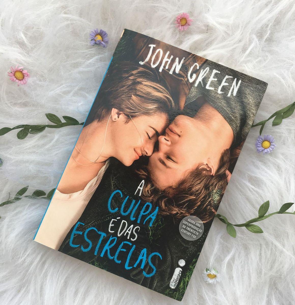 """Top leitura: """"A culpa é das estrelas"""", de  John Green"""