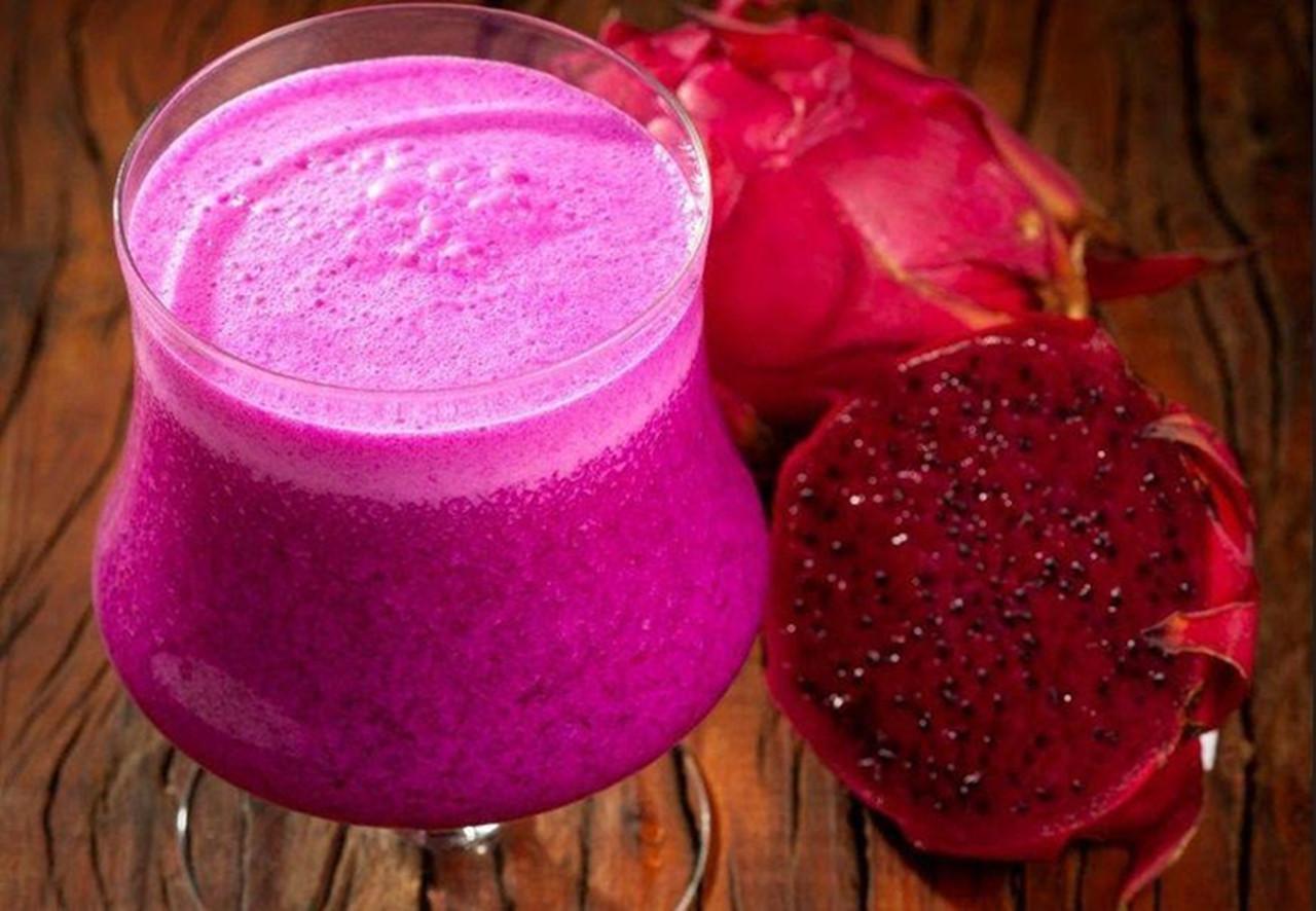 Cocktail de pitaya: um sabor único