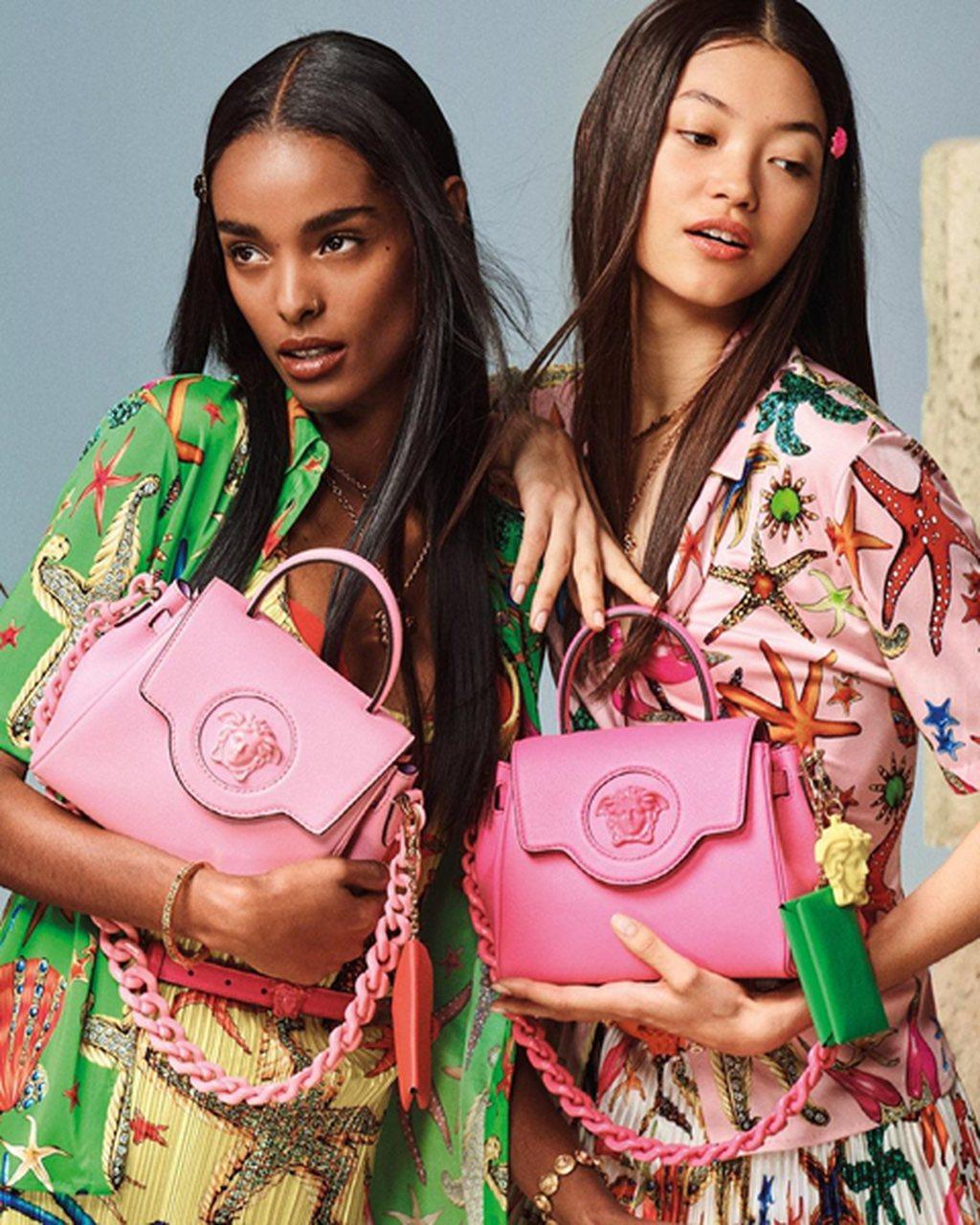 """""""La Medusa"""" é a nova colecção de bolsas da Versace"""
