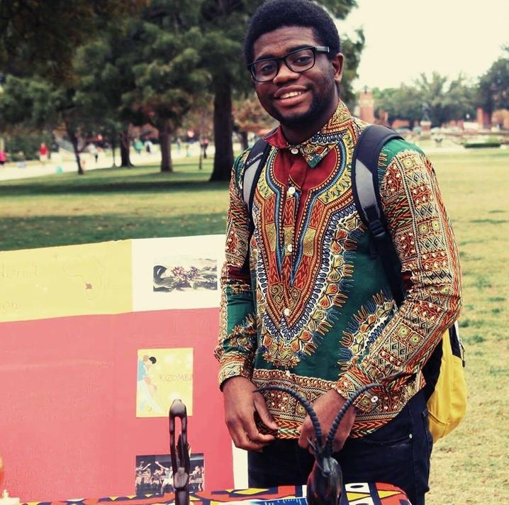 Estudante Angolano admitido na Associação de Ciências Políticas, nos EUA