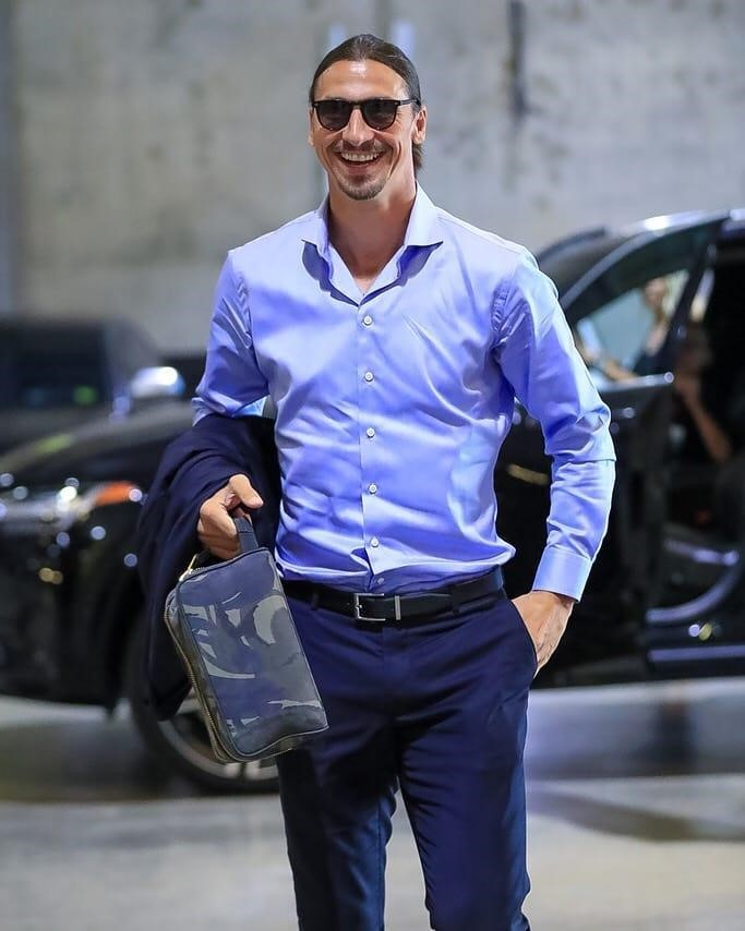 Inspire-se na boa forma de Zlatan Ibrahimović