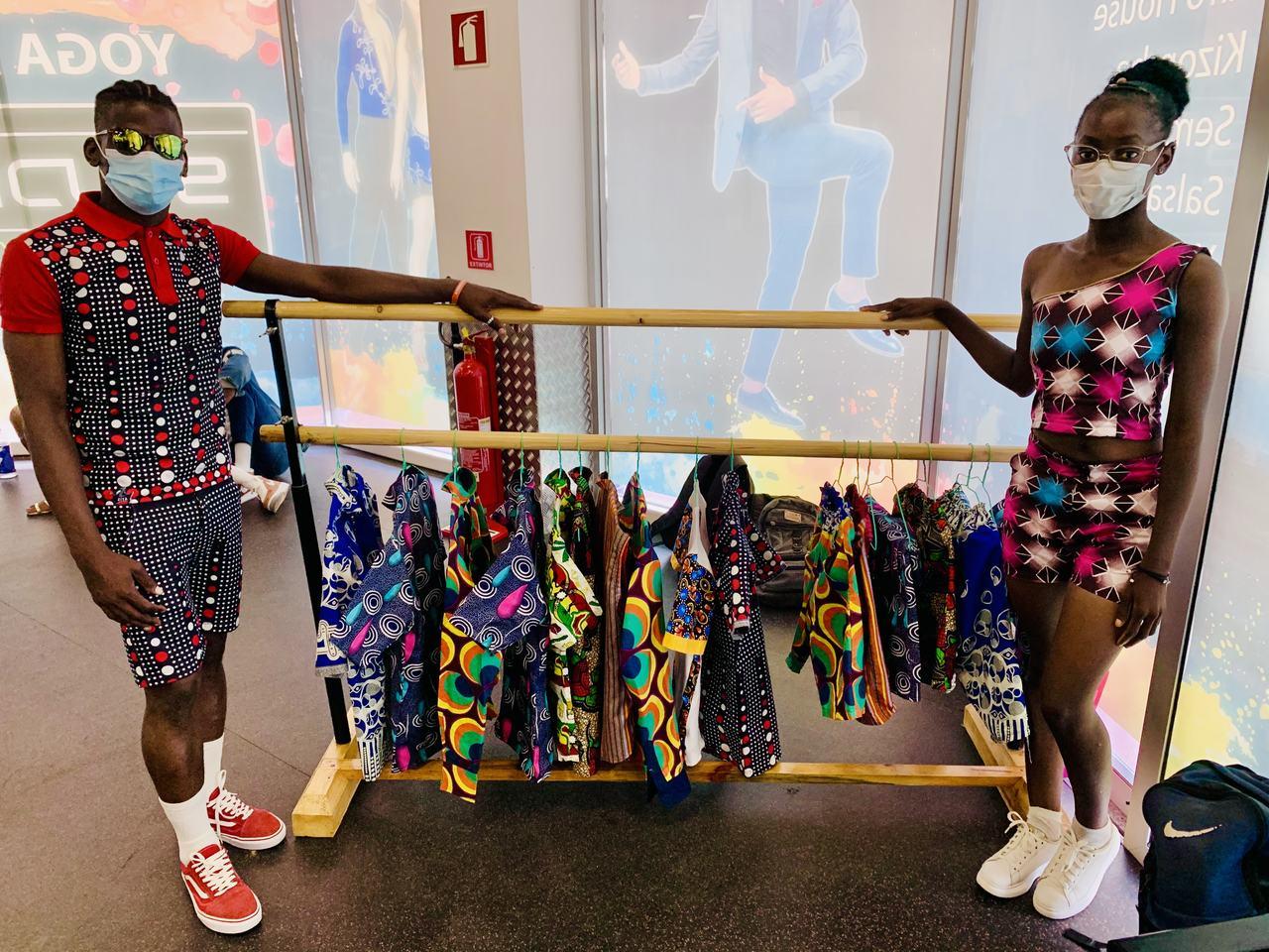 Uma feira de artes alusivo ao Dia Mundial da Dança