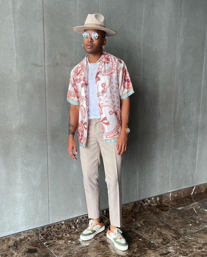 Chuck Mbevo: o estilista que vive intensamente a moda
