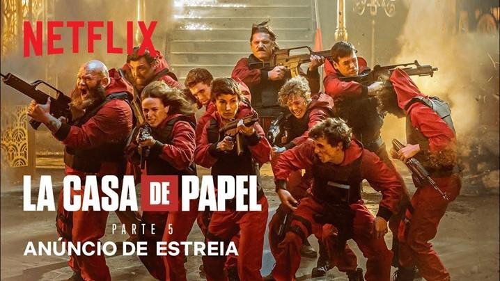 """A caminho: """"La Casa de Papel"""", 5ª e última temporada"""