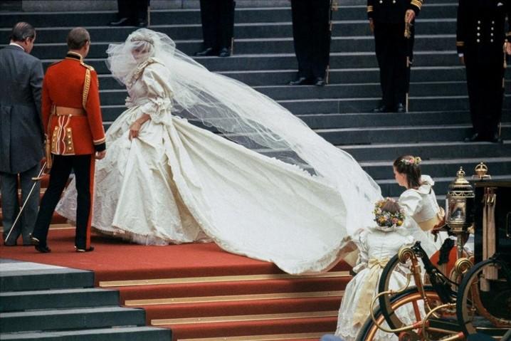 Vestido de Princesa Diana em exposição