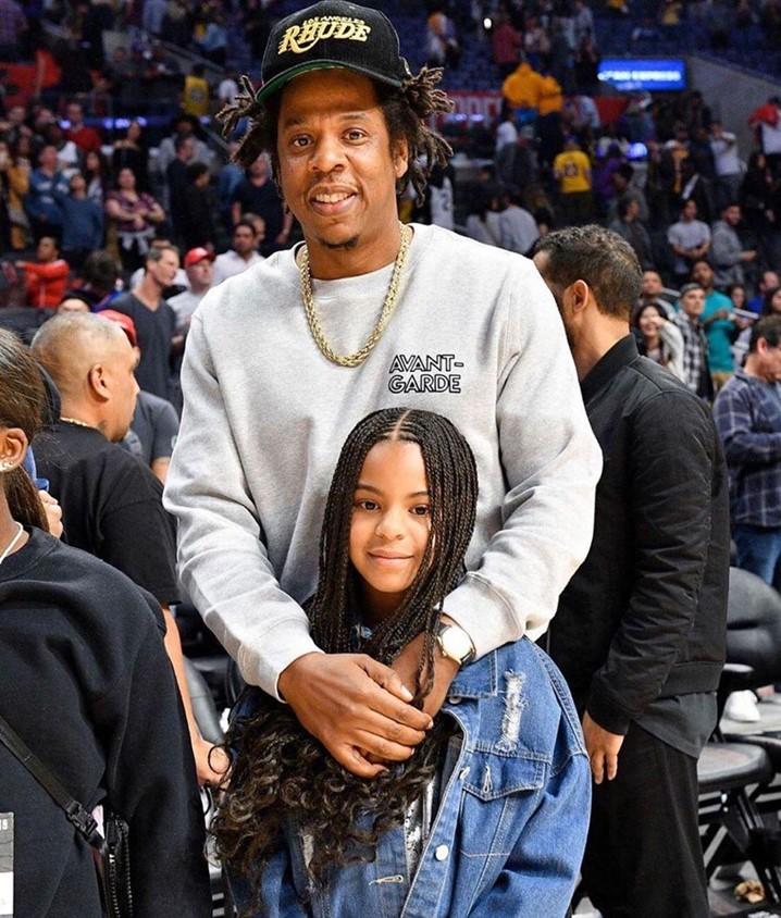 Jay Z só aprendeu a nadar por causa da filha