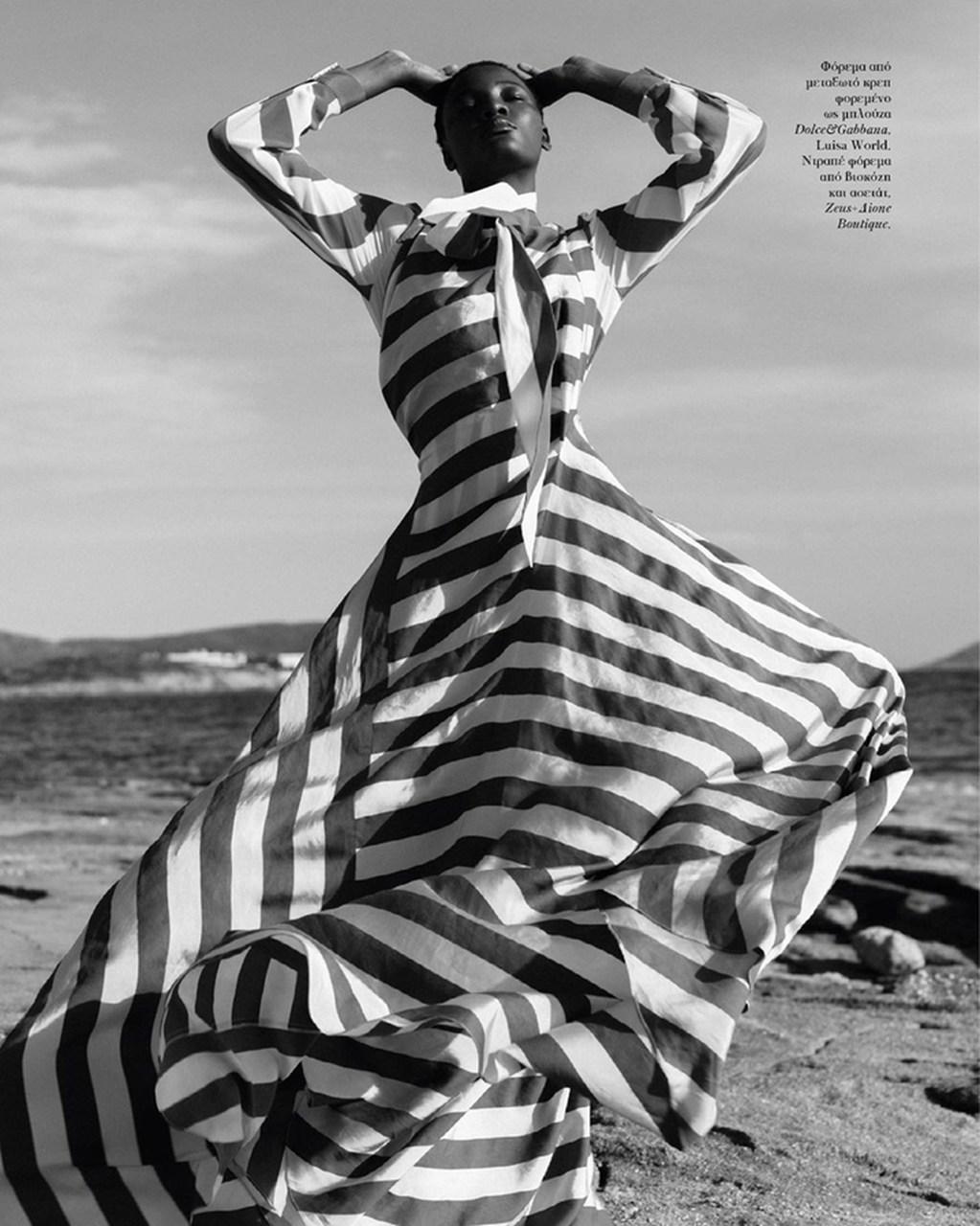 Sompa António é destaque na Vogue Grécia