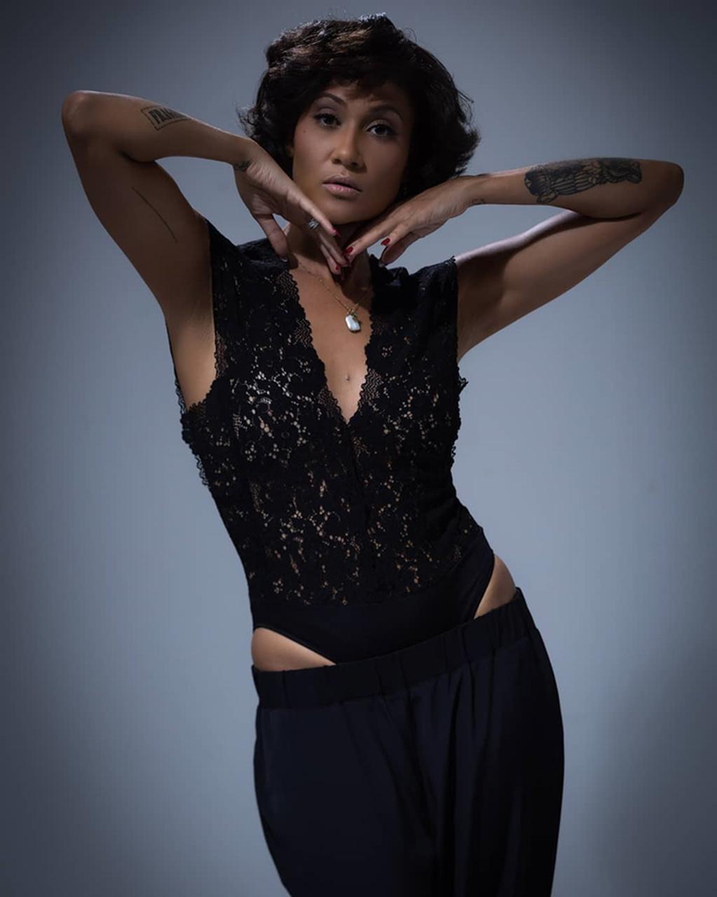Cor preta: a favorita de Bruna Sousa?