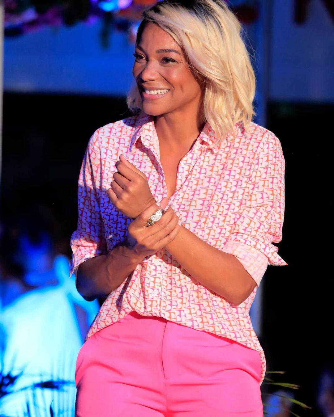 Inspire-se nos mais variados looks rosa de Beatriz Franck