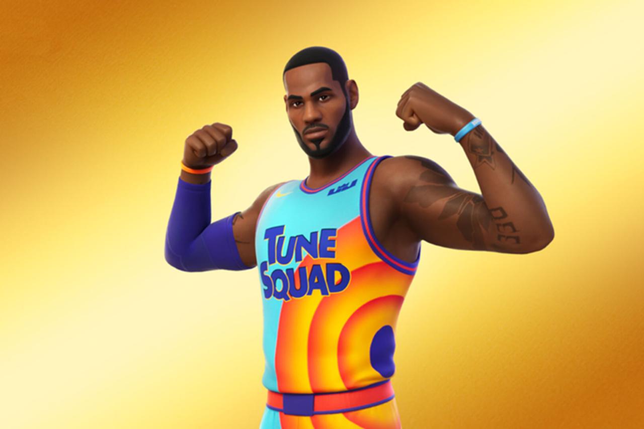 """LeBron James é a nova personagem do Fortnite na série """"Ícones"""""""