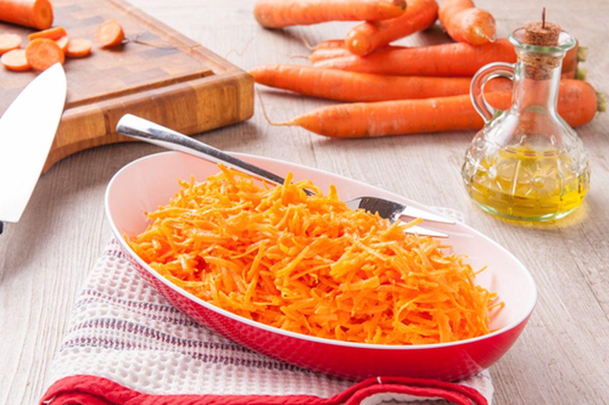 Vai uma receita de cenoura refogada simples?