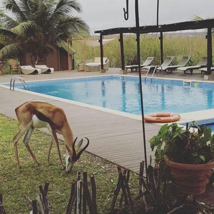 Um passeio ao Resort Mubanga Lodge (Bengo)