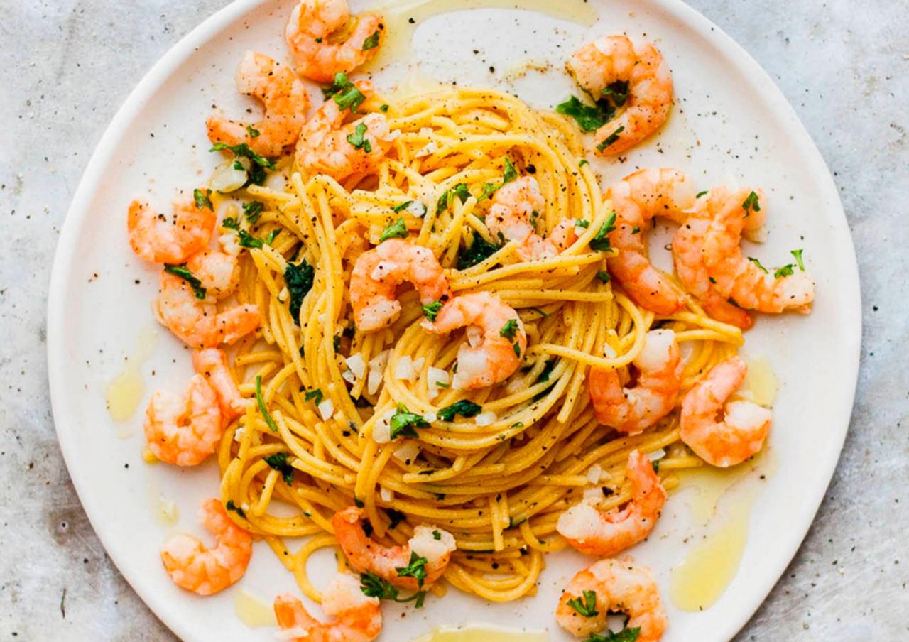 """""""Massa de camarão"""" sugestão da Chef Sandra Byda"""