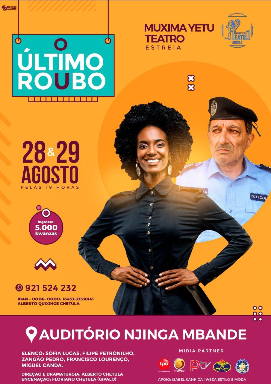 """Vem aí a grande estreia no mês de Agosto!!! """"O ÚLTIMO ROUBO"""""""