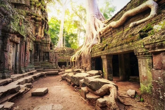 Camboja: Parque Arqueológico de Angkor