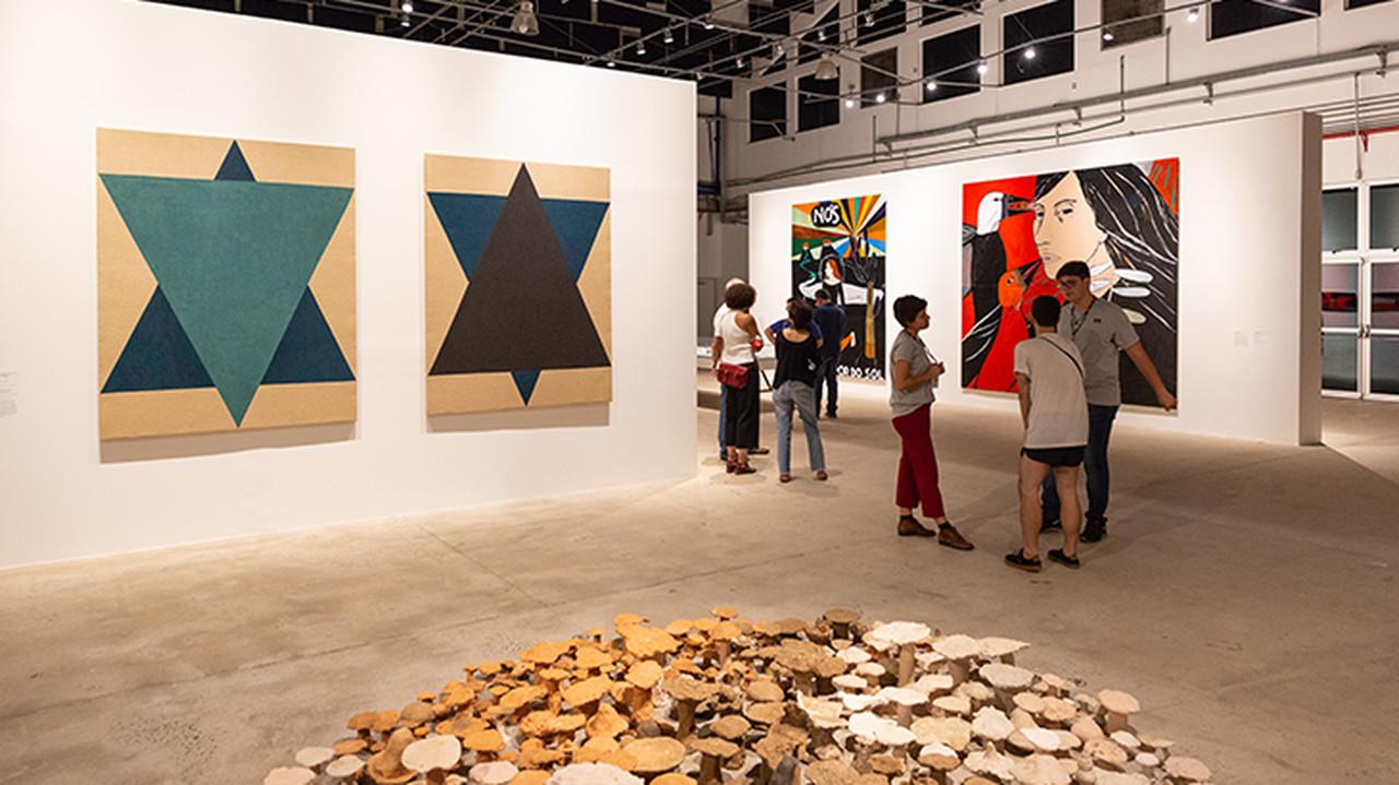 Obras de Mestre Kapela na Bienal de São Paulo