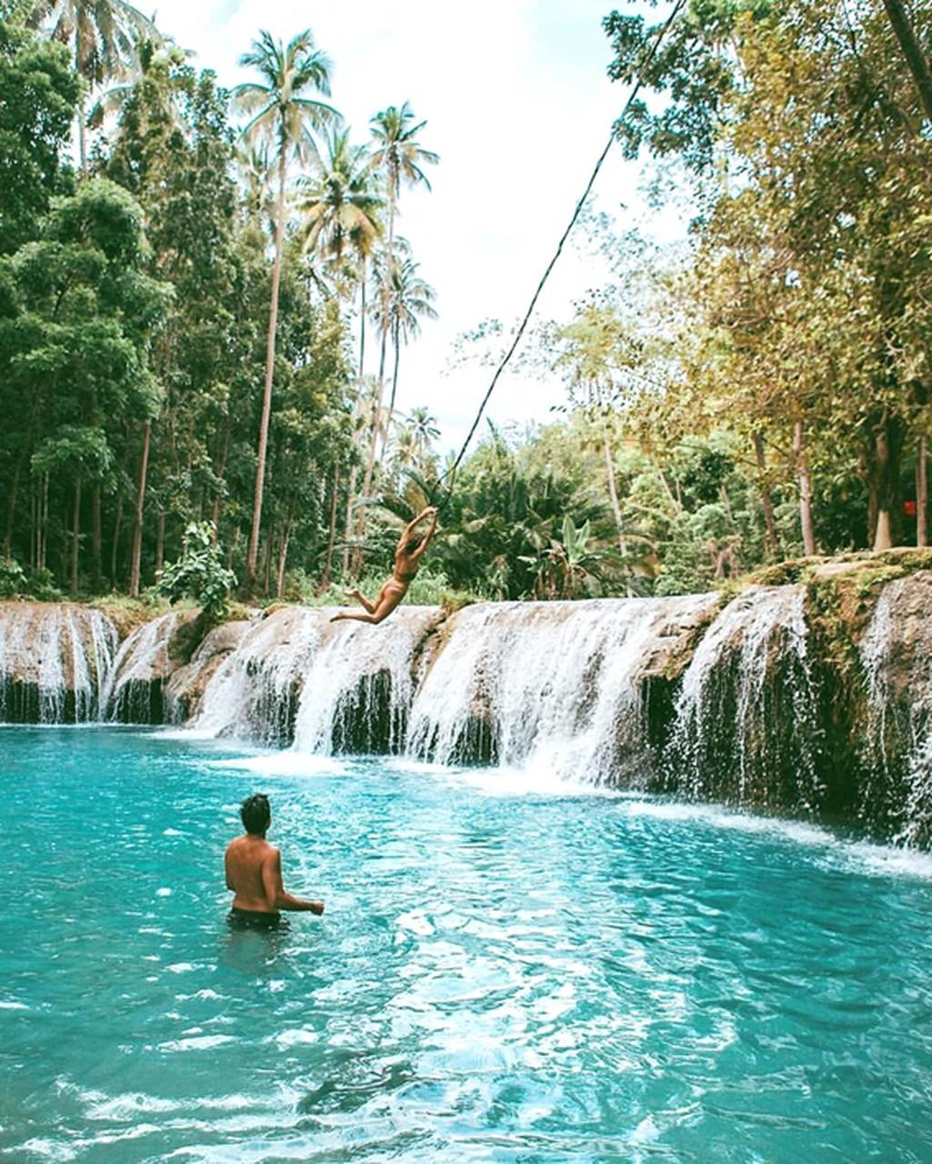 Conheça o parque Cambugahay Falls