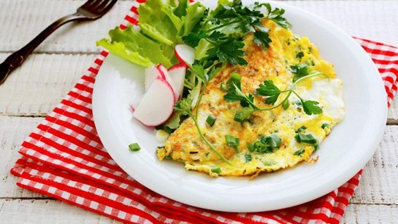 Omeletes para todas as horas!