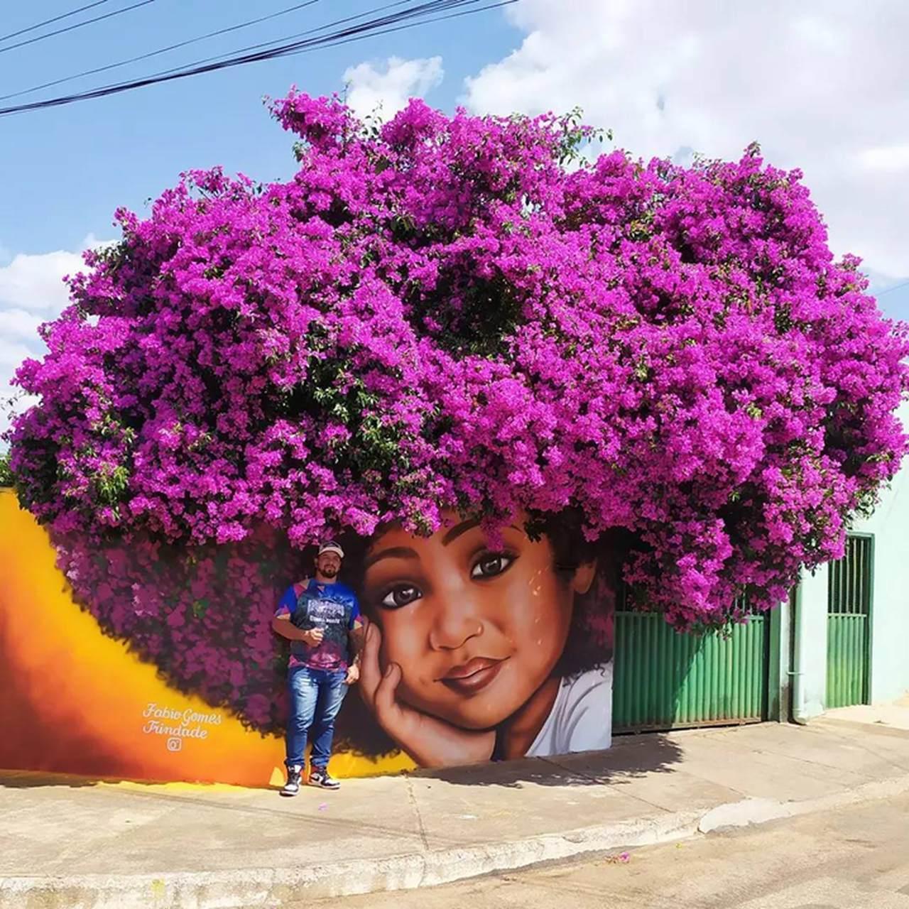 A combinação perfeita entre arte e natureza do artista Brasileiro Fábio Gomes