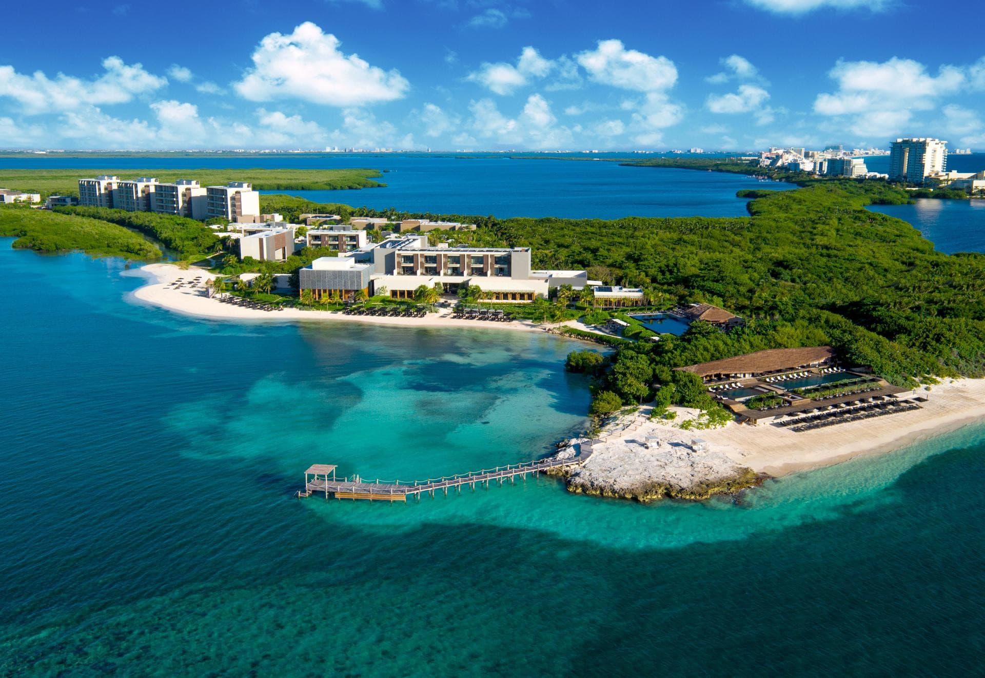 A simplicidade num dos melhores hotéis do mundo: Nizuc Resort Cancun