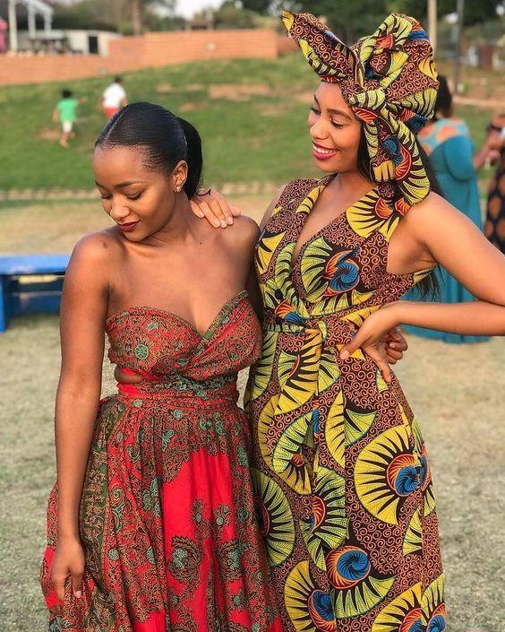 Aprecie os tecidos e estampas Africanos
