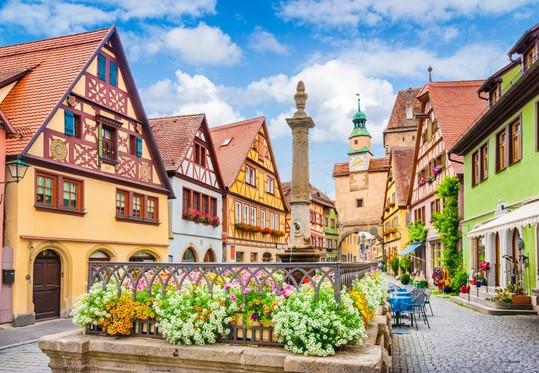 Rothenburg: um lugar para os apaixonados