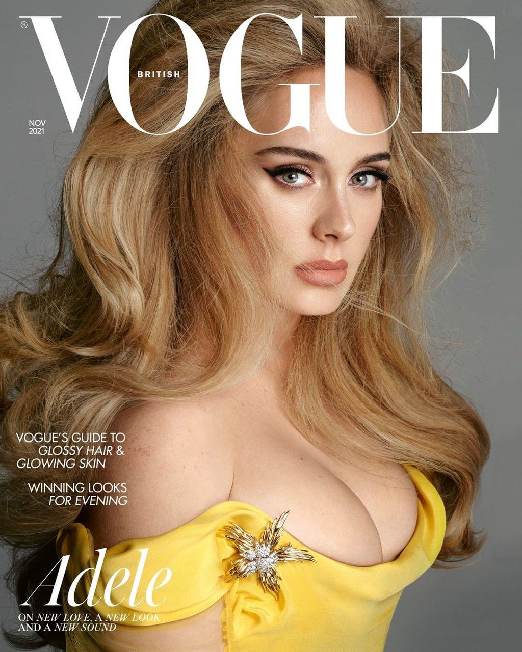 Adele é capa da Vogue