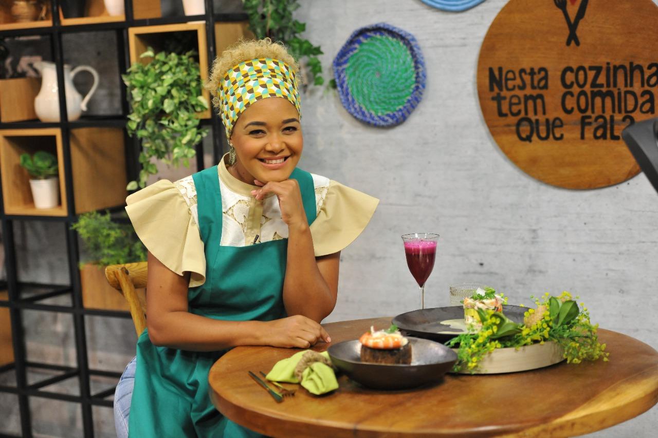 """""""Ceviche de Camarão com côco"""", sugestão da chef Elizabeth Martins"""